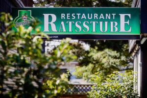 Restaurant Ratsstube Schild